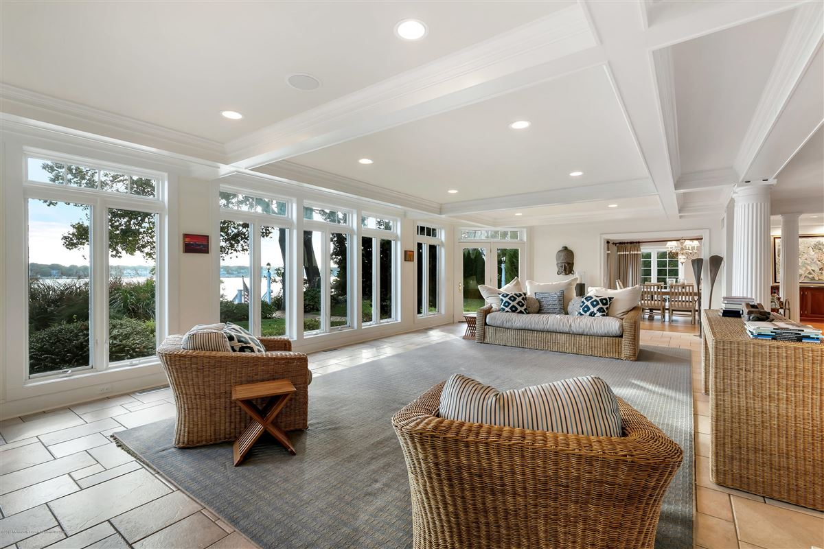 unparalleled panorama on Manasquan River luxury homes