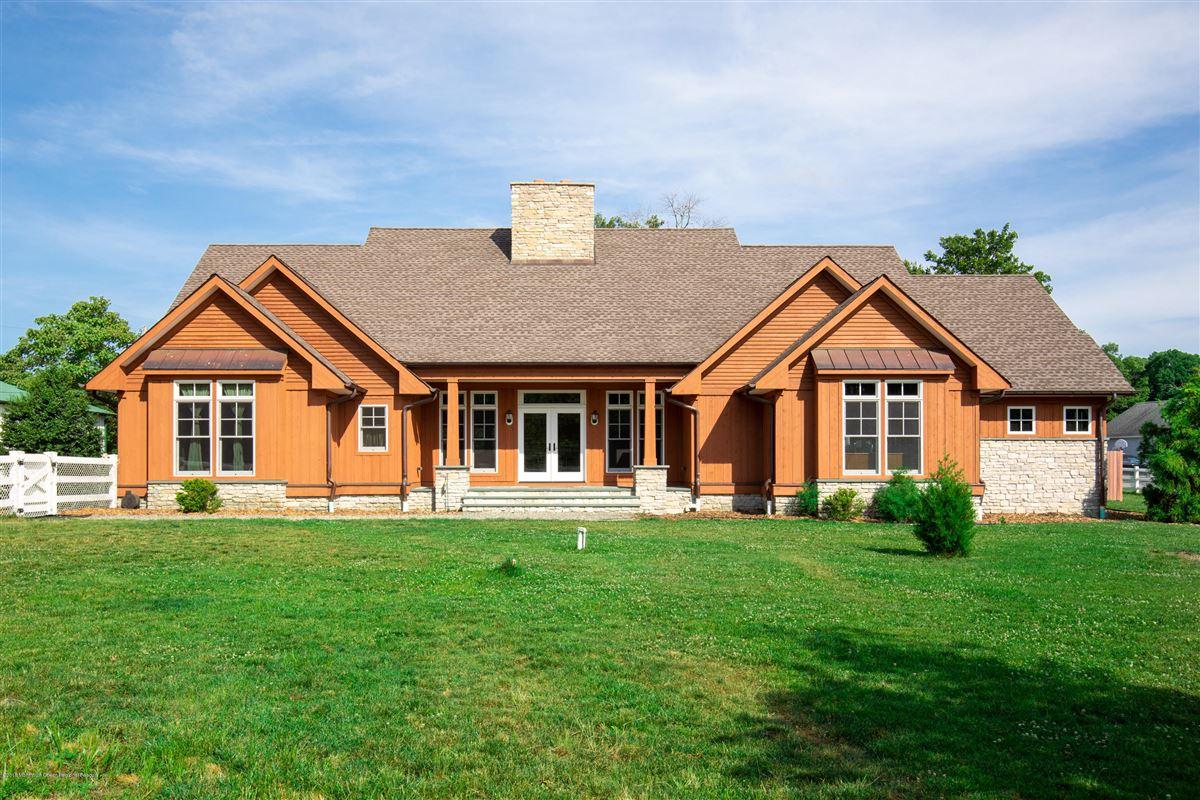 Luxury properties custom home on 27 acre farm