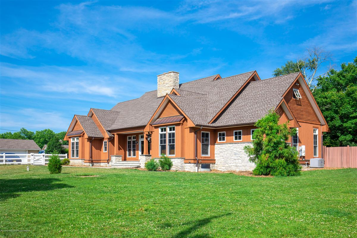 Luxury homes in custom home on 27 acre farm