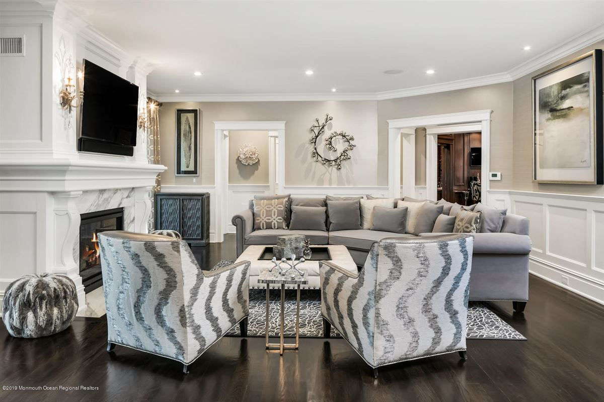 Luxury real estate classical beauty with sophisticated elegance in spring lake