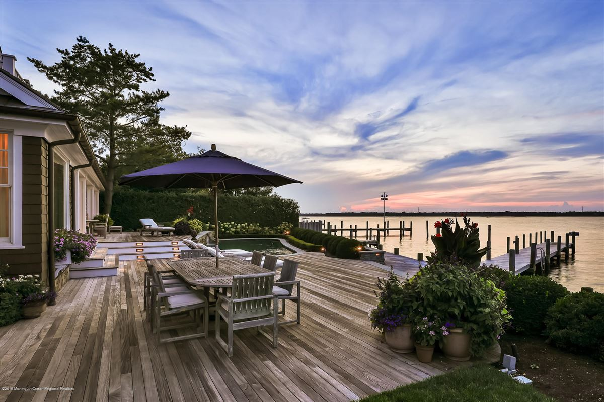 Exclusive Bayfront Home  luxury real estate