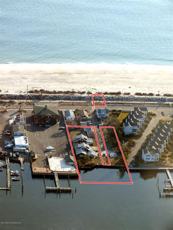 a desirable section of Sea Bright luxury properties