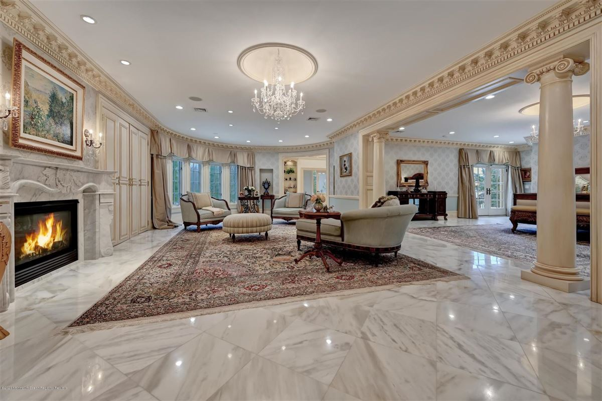 Mansions in unparalleled Rumson Gated Estate
