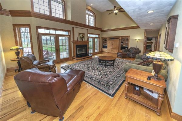 Luxury properties Impressive Brick two-Story home