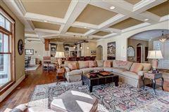 Mansions in Incredible custom-built lake home with panoramic views