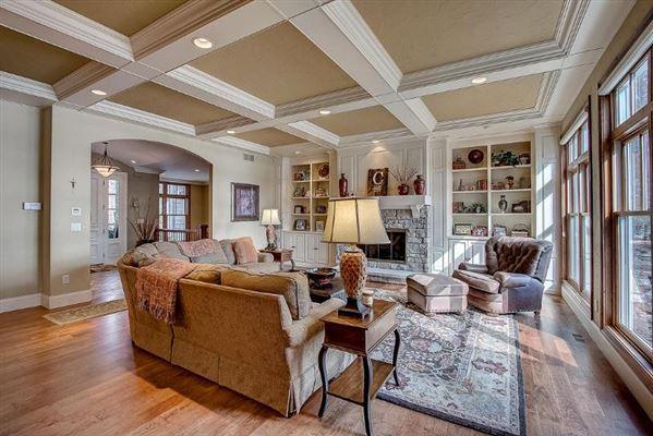 Incredible custom-built lake home with panoramic views luxury properties