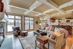 Incredible custom-built lake home with panoramic views luxury homes