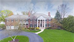 Luxury real estate Gorgeous brick Georgian Colonial