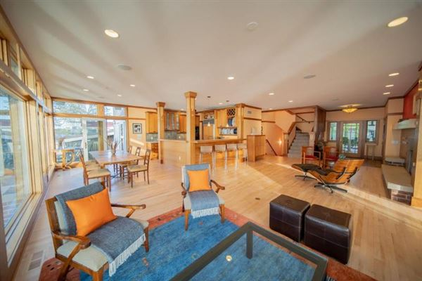 Luxury properties Perfectly designed and sited custom home