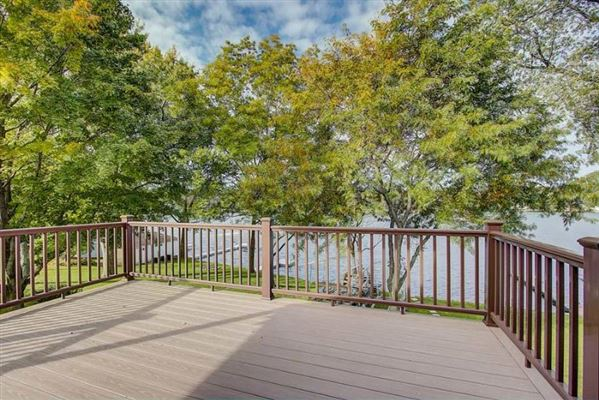 Luxury properties Nashotah Park in your back yard and Okauchee Lake in your front yard