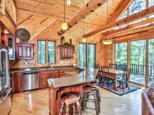 Luxury real estate Ideal Minocqua Lake home