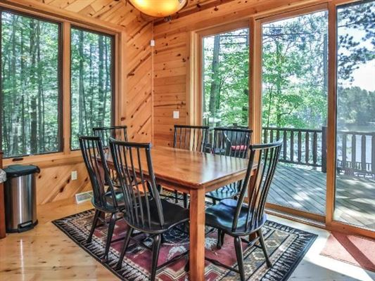 Ideal Minocqua Lake home luxury properties