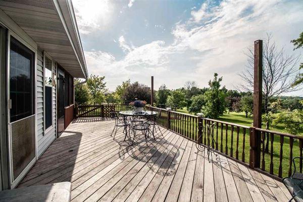 Luxury real estate beautiful Farmhouse in Wisconsin