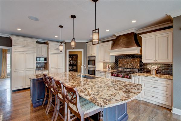 Luxury homes custom home in desirable Blackhawk subdivision