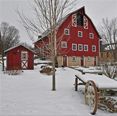 1914 Historic Cooksville Farm luxury real estate