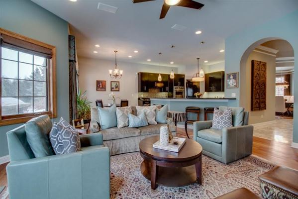 one-of-a-kind home full of special upgrades luxury homes