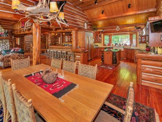 Lost Loon Lodge - spectacular turnkey opportunity luxury properties