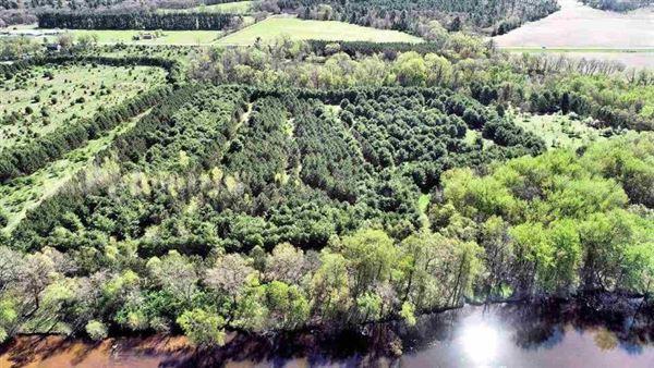 Luxury real estate rare 94-acre private wooded estate site