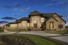 Luxury real estate custom home with care given to every detail