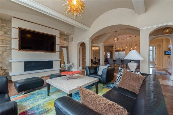 Luxury properties custom home with care given to every detail