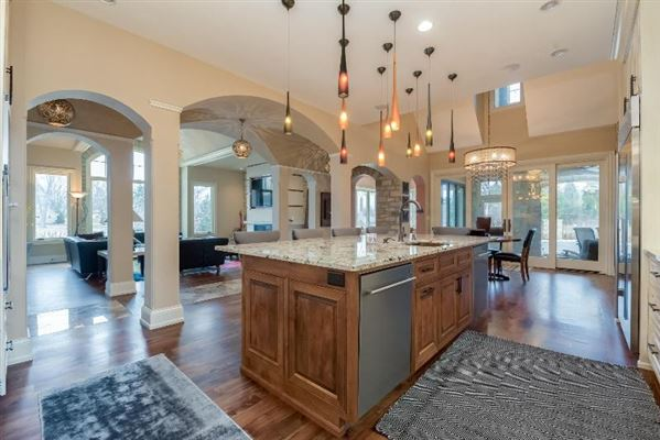 Luxury homes in custom home with care given to every detail