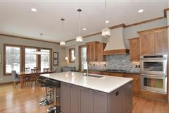 Luxury homes in custom home on a private lot