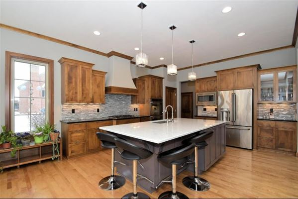 Luxury properties custom home on a private lot