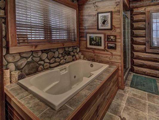 beautiful log home on a quiet bay mansions
