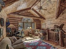 Luxury homes beautiful log home on a quiet bay
