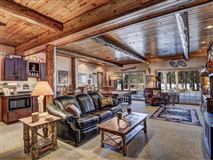 beautiful log home on a quiet bay luxury homes