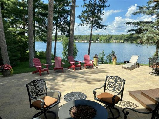 TRUE UP-NORTH ESTATE on Big Silver Lake luxury properties