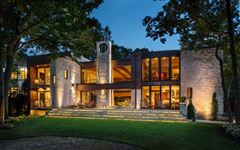 Sophisticated Contemporary Masterpiece mansions