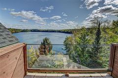 Bass Lake Lodge - a Northwoods playground luxury real estate