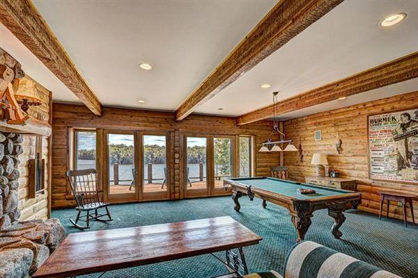 Luxury homes Bass Lake Lodge - a Northwoods playground
