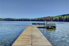 Luxury real estate Bass Lake Lodge - a Northwoods playground