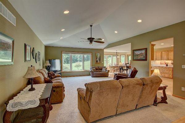 custom built ranch on 40 acres luxury real estate