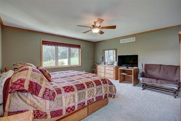 custom built ranch on 40 acres luxury homes