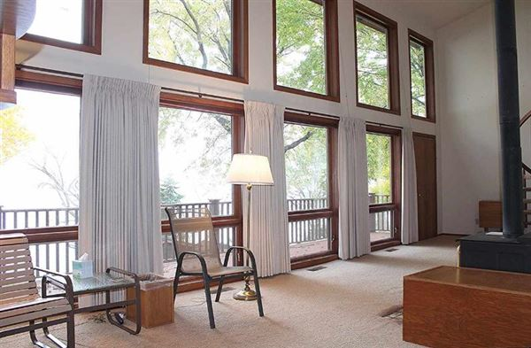 Custom built contemporary style lake house luxury homes