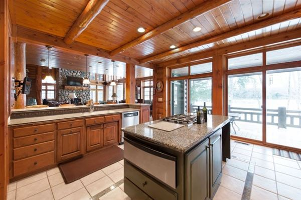 Wisconsin River Executive Style Estate luxury real estate
