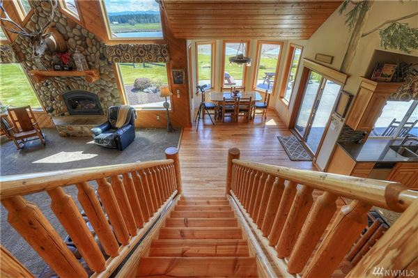 Luxury properties a Breathtaking Lodge Style Home