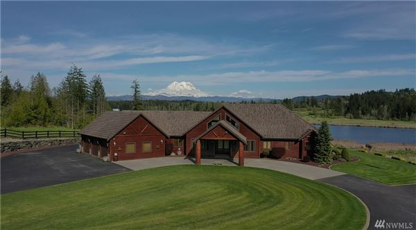 a Breathtaking Lodge Style Home luxury properties