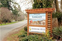 Live in downtown Langley luxury homes