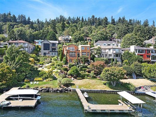 Italian-villa inspired waterfront beauty luxury real estate