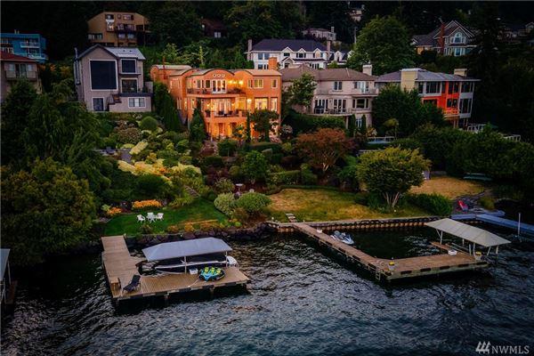 Mansions Italian-villa inspired waterfront beauty