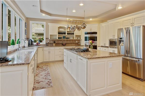 Luxury real estate stately canterwood home boasts style and grace