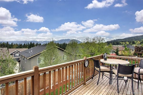 Luxury real estate An immaculate Mount Si view home