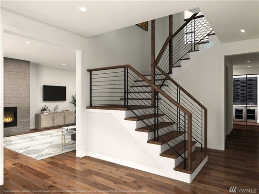 Luxury real estate brand new contemporary near downtown