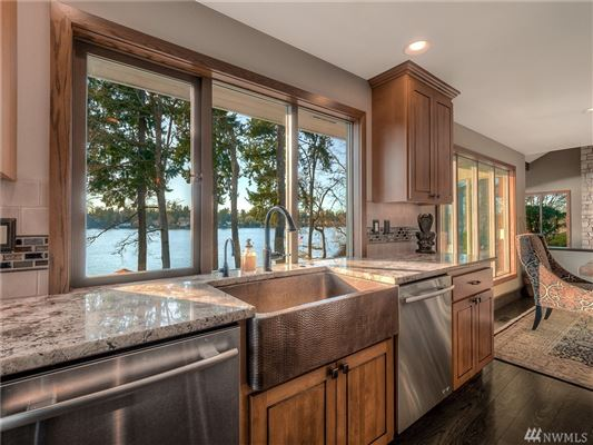 custom estate on Lake Steilacoom luxury real estate