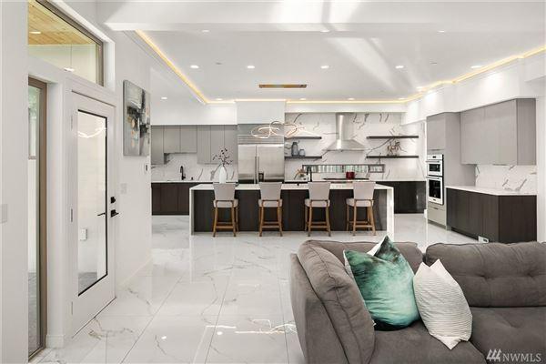 Luxury properties custom luxury modern home on mercer island