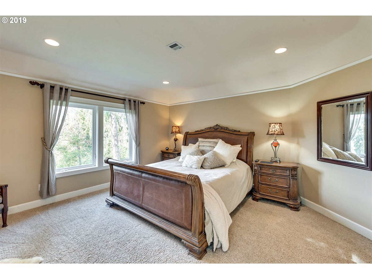 Luxury homes custom home with beautiful view in gated community